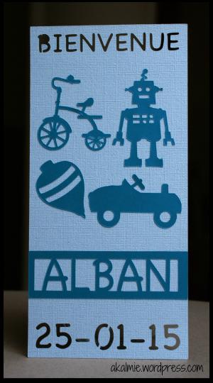 Bienvenue Alban